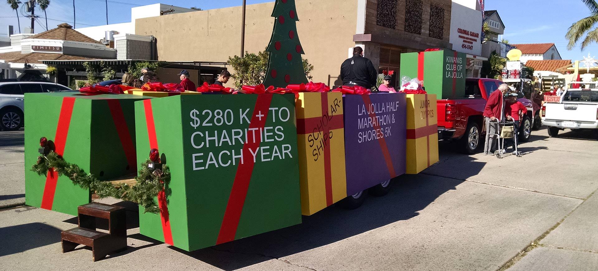 Kiwanis Club of La Jolla Christmas Parade