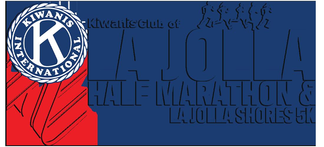 La Jolla Half Marathon and La Jolla Shores 5K Logo