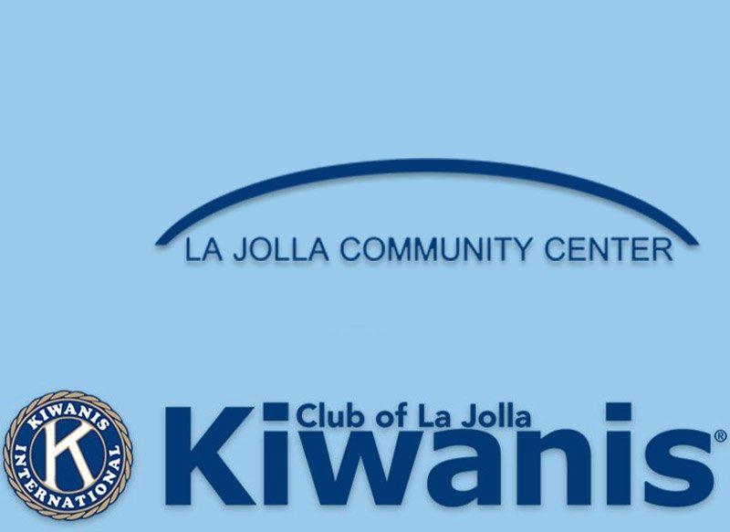 Kiwanis Club and the La Jolla Community Center Logos